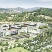 Alès, el primer hospital con alta calidad ambiental en Francia